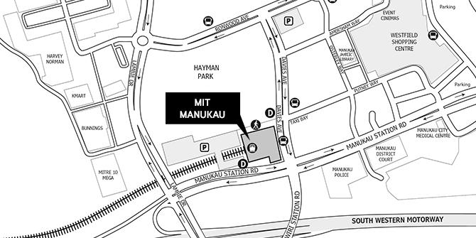 MIT Manukau Location