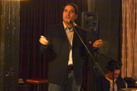 Robert Sullivan, Poetry Reading 2011