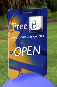FreeB sign