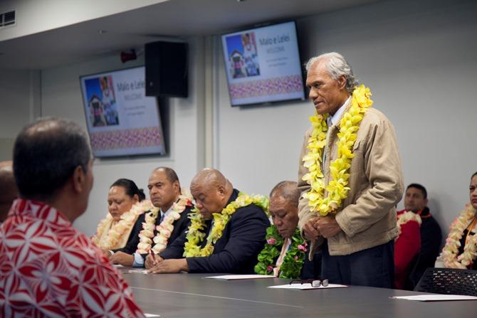 Tongan PM