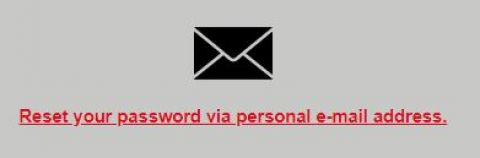 Email reset